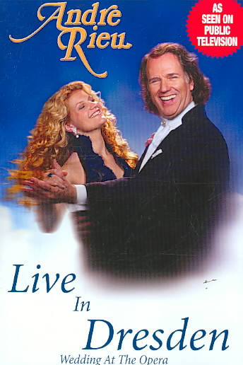 LIVE IN DRESDEN:WEDDING AT THE OPERA BY RIEU,ANDRE (DVD)